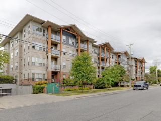 """Photo 1: 320 20219 54A Avenue in Langley: Langley City Condo for sale in """"Suede Living"""" : MLS®# R2602848"""
