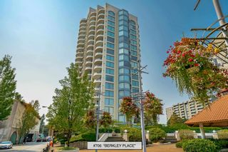 """Photo 1: 706 739 PRINCESS Street in New Westminster: Uptown NW Condo for sale in """"BERKLEY PLACE"""" : MLS®# R2609969"""