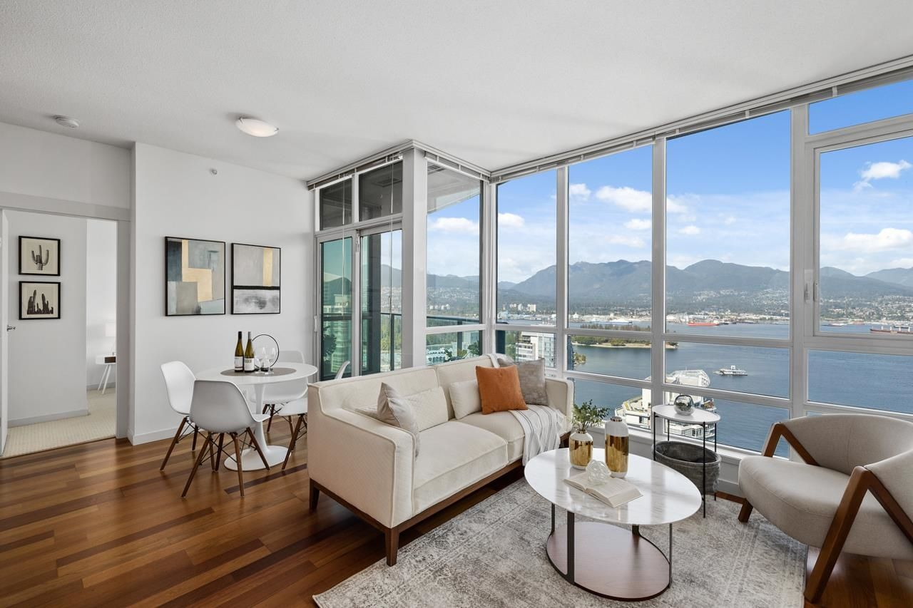 Main Photo: 3902 1189 MELVILLE Street in Vancouver: Coal Harbour Condo for sale (Vancouver West)  : MLS®# R2615734