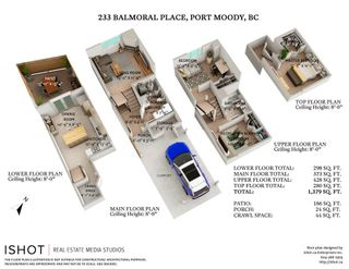 """Photo 27: 233 BALMORAL Place in Port Moody: North Shore Pt Moody Townhouse for sale in """"Balmoral Place"""" : MLS®# R2585129"""