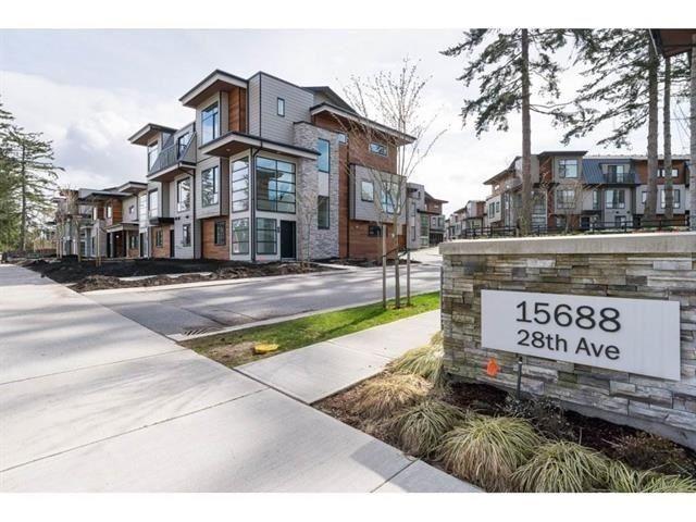 "Main Photo: 46 15688 28 Avenue in Surrey: Grandview Surrey Townhouse for sale in ""Sakura"" (South Surrey White Rock)  : MLS®# R2377302"