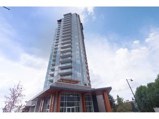 """Photo 1: 2204 691 NORTH Road in Coquitlam: Coquitlam West Condo for sale in """"BURUITLAM CAPITAL"""" : MLS®# R2398383"""