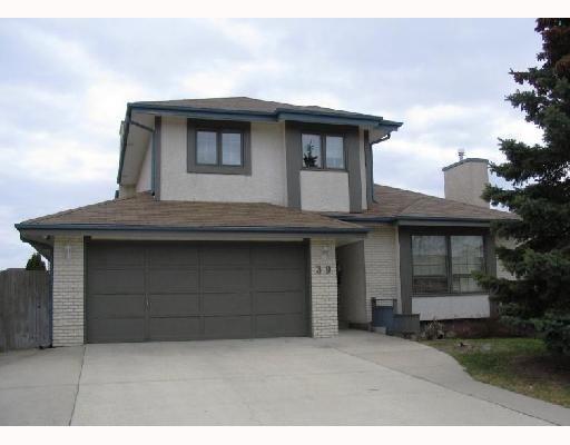 Main Photo: 39 FAIRLAND Cove in WINNIPEG: Fort Garry / Whyte Ridge / St Norbert Residential for sale (South Winnipeg)  : MLS®# 2807251