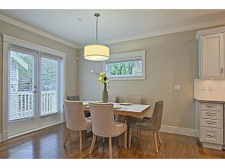 Photo 6: 2315 BALSAM Street in Vancouver: Kitsilano Townhouse for sale (Vancouver West)  : MLS®# V1074012