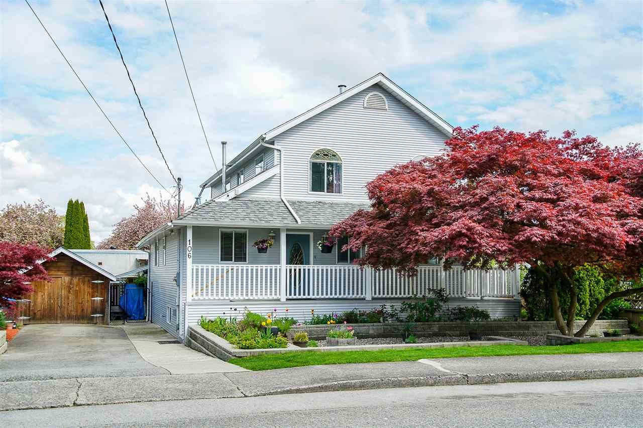 Main Photo: 106 CARROLL Street in New Westminster: The Heights NW House for sale : MLS®# R2576455