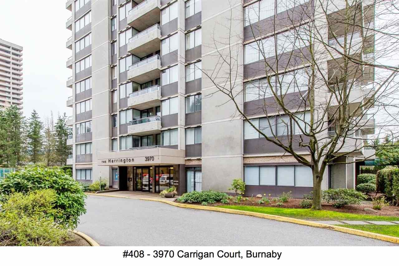 "Main Photo: 408 3970 CARRIGAN Court in Burnaby: Government Road Condo for sale in ""The Harrington"" (Burnaby North)  : MLS®# R2151924"