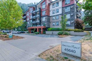 """Photo 1: 302 45640 ALMA Avenue in Chilliwack: Vedder S Watson-Promontory Condo for sale in """"Ameera Place"""" (Sardis)  : MLS®# R2589892"""