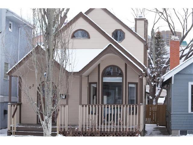 Main Photo: 1005 1 AV NW in Calgary: Sunnyside House for sale : MLS®# C4042882