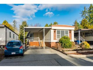 "Photo 1: 161 3665 244 Street in Langley: Otter District Manufactured Home for sale in ""Langley Grove Estates"" : MLS®# R2535477"