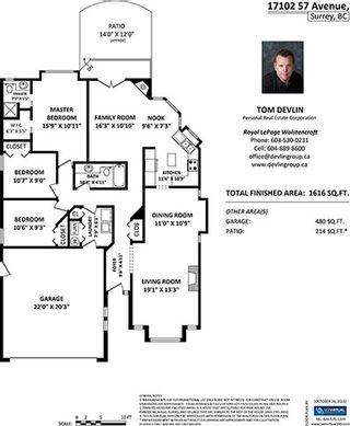 "Photo 20: 17102 57 Avenue in Surrey: Cloverdale BC House for sale in ""RICHARSDON RIDGE"" (Cloverdale)  : MLS®# R2010265"