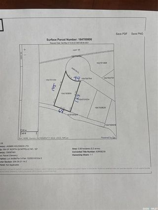 Photo 16: Lot 34 Aaron Drive in Echo Lake: Lot/Land for sale : MLS®# SK852367