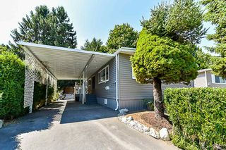 "Main Photo: 58 7790 KING GEORGE Boulevard in Surrey: Bear Creek Green Timbers Manufactured Home for sale in ""CRISPEN BAY"" : MLS®# R2296609"