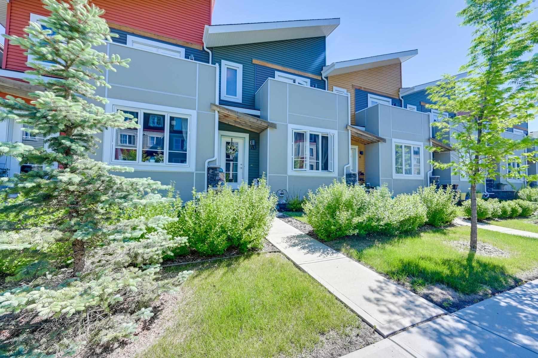 Main Photo: 43 1480 Watt Drive in Edmonton: Zone 53 Townhouse for sale : MLS®# E4250367