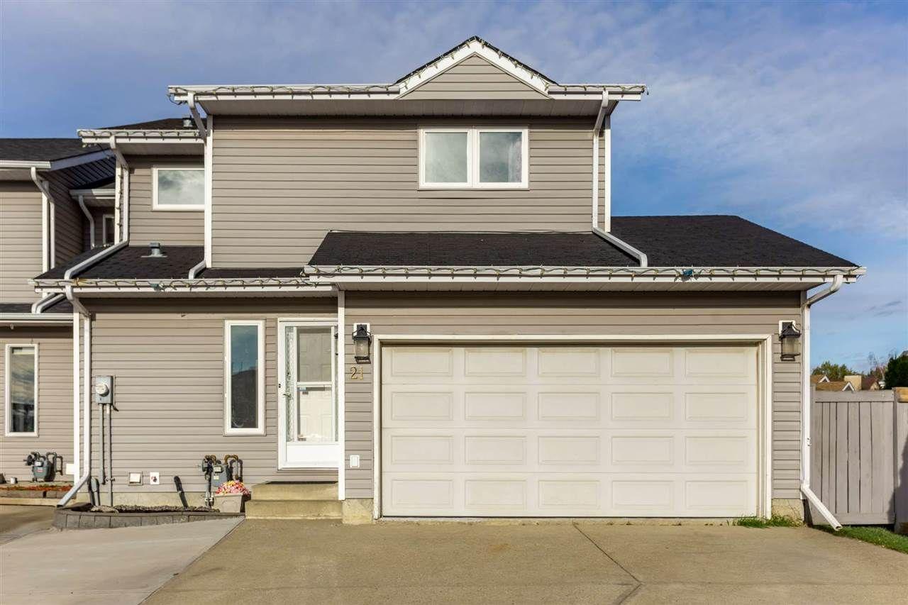 Main Photo: 21 14717 34 Street in Edmonton: Zone 35 House Half Duplex for sale : MLS®# E4234606