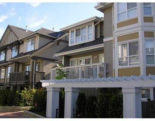 """Main Photo: 33 7833 HEATHER ST in Richmond: McLennan North Townhouse for sale in """"BELMONT"""" : MLS®# V545091"""