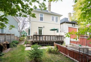 Photo 18: 219 Aubrey Street in Winnipeg: Wolseley Residential for sale (5B)  : MLS®# 1826374