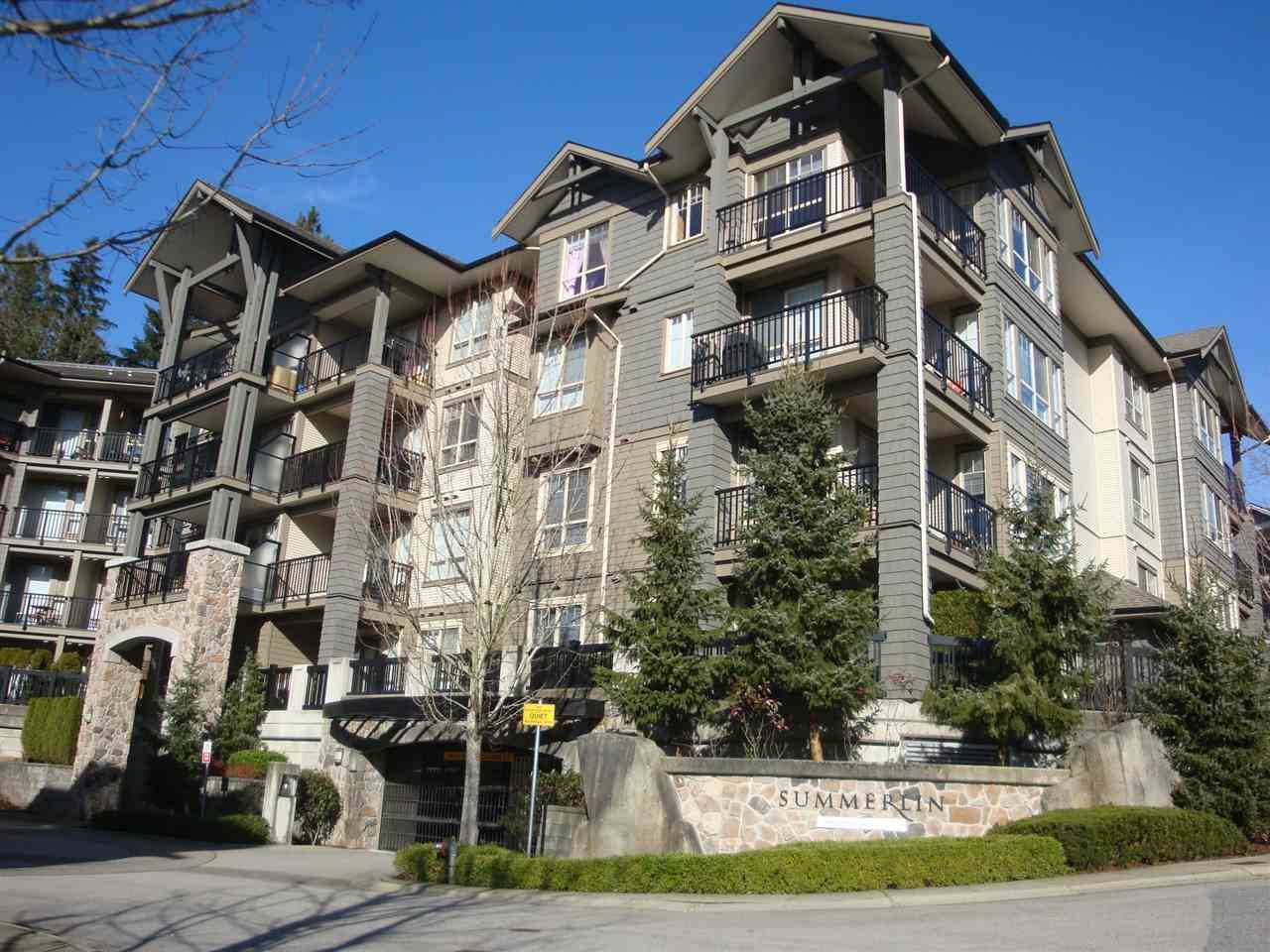 Main Photo: 402 2969 WHISPER Way in Coquitlam: Westwood Plateau Condo for sale : MLS®# R2037261