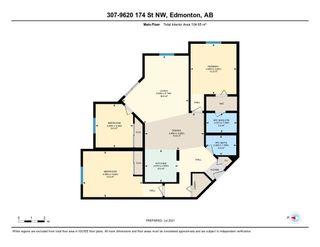 Photo 33: 307 9620 174 Street in Edmonton: Zone 20 Condo for sale : MLS®# E4253956