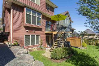 """Photo 19: 17 36169 LOWER SUMAS MOUNTAIN Road in Abbotsford: Abbotsford East Townhouse for sale in """"Junction Creek"""" : MLS®# R2158498"""
