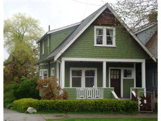 Photo 1: 2169 VICTORIA Drive in Vancouver: Grandview VE House for sale (Vancouver East)  : MLS®# V825701