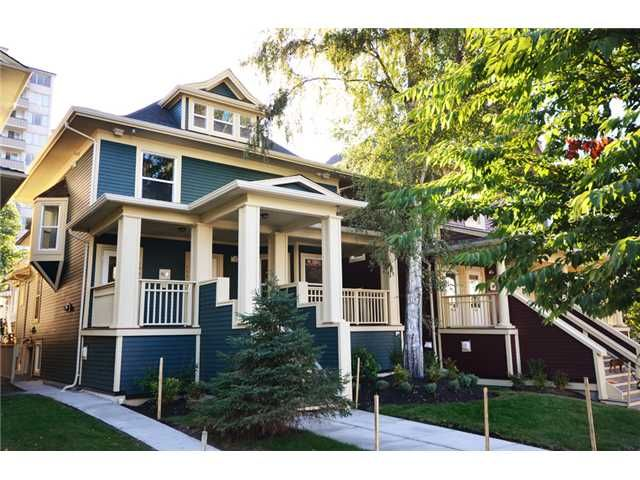 """Main Photo: 1556 COMOX Street in Vancouver: West End VW Townhouse for sale in """"C & C"""" (Vancouver West)  : MLS®# V908911"""