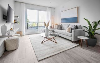 """Main Photo: 306 4788 HASTINGS Street in Burnaby: Capitol Hill BN Condo for sale in """"Valeo by Streetside Developments"""" (Burnaby North)  : MLS®# R2601134"""