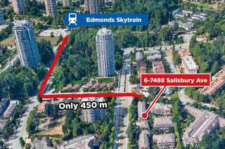 Photo 26: 6 7488 SALISBURY Avenue in Burnaby: Highgate Townhouse for sale (Burnaby South)  : MLS®# R2593129