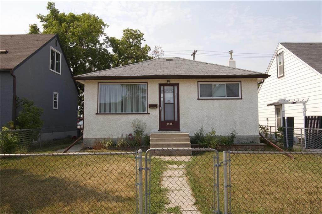 Main Photo: 2148 Gallagher Avenue in Winnipeg: Weston Residential for sale (5D)  : MLS®# 202118925