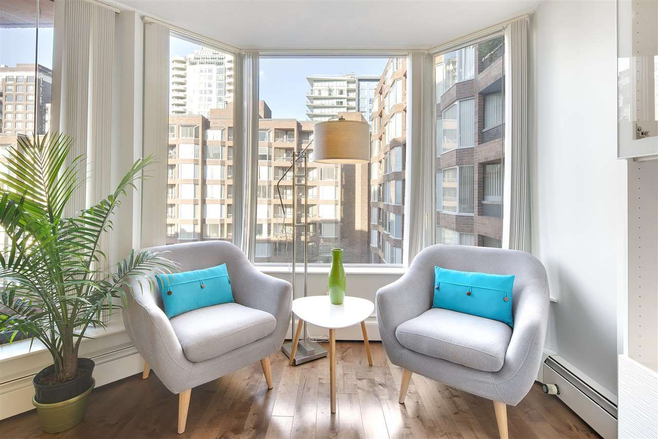 """Main Photo: 623 1333 HORNBY Street in Vancouver: Downtown VW Condo for sale in """"Anchor Point"""" (Vancouver West)  : MLS®# R2583045"""
