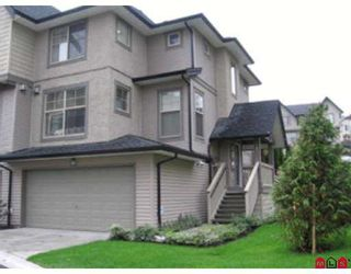 """Main Photo: 107 15152 62A Ave in Surrey: Sullivan Station Townhouse for sale in """"UPLANDS"""" : MLS®# F2704078"""