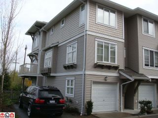 "Photo 1: 54 15155 62A Avenue in Surrey: Sullivan Station Townhouse for sale in ""Oaklands by Polygon"" : MLS®# F1111627"