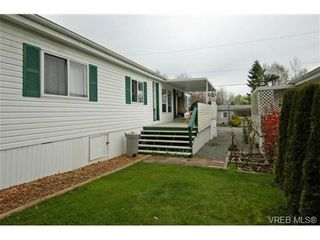 Photo 18: SAANICHTON MOBILE HOME = SAANICHTON REAL ESTATE Sold With Ann Watley! Call (250) 656-0131