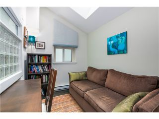 """Photo 10: 17 1350 W 6TH Avenue in Vancouver: Fairview VW Townhouse for sale in """"PEPPER RIDGE"""" (Vancouver West)  : MLS®# V1094949"""