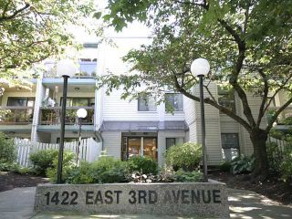 Photo 1: 210 1422 E 3RD Avenue in Vancouver: Grandview VE Condo for sale (Vancouver East)  : MLS®# V969197