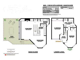 """Photo 3: A2 1100 W 6TH Avenue in Vancouver: Fairview VW Townhouse for sale in """"FAIRVIEW PLACE"""" (Vancouver West)  : MLS®# V1094784"""