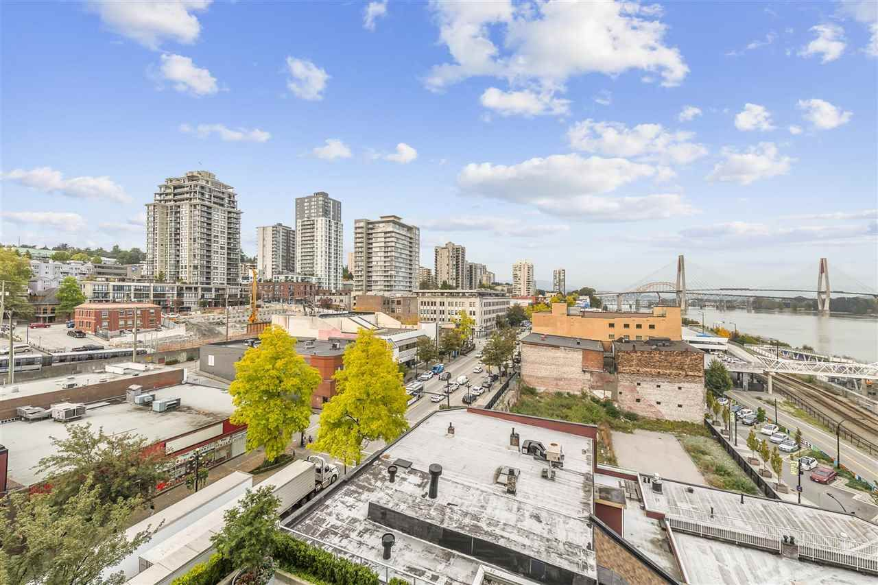 """Main Photo: 907 668 COLUMBIA Street in New Westminster: Quay Condo for sale in """"TRAPP + HOLBROOK"""" : MLS®# R2512551"""