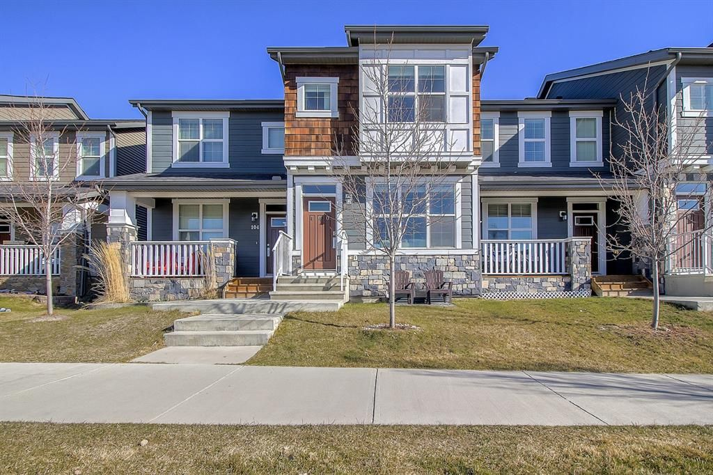Main Photo: 100 Legacy Main Street SE in Calgary: Legacy Row/Townhouse for sale : MLS®# A1095155