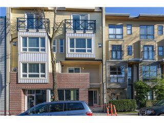 """Photo 1: 201 3736 COMMERCIAL Street in Vancouver: Victoria VE Townhouse for sale in """"Elements"""" (Vancouver East)  : MLS®# V979765"""