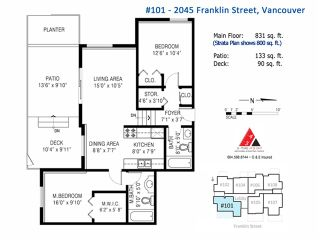 "Photo 17: 101 2045 FRANKLIN Street in Vancouver: Hastings Condo for sale in ""HARBOUR MOUNT"" (Vancouver East)  : MLS®# V1049075"