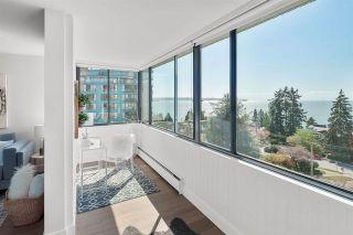 Photo 3: 703 2167 BELLEVUE AVENUE in West Vancouver: Dundarave Condo for sale : MLS®# R2615536
