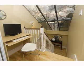 Photo 9: 1593 LARCH Street in Vancouver: Kitsilano Townhouse for sale (Vancouver West)  : MLS®# V701040