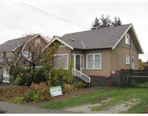 Main Photo: 316 SIMPSON Street in New Westminster: Sapperton House for sale : MLS®# V797958