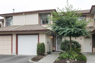 "Photo 1: 39 21960 RIVER Road in Maple Ridge: West Central Townhouse for sale in ""Foxborough Hills"" : MLS®# R2204408"