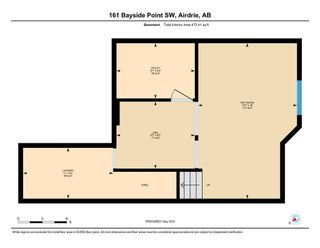 Photo 33: 161 Bayside Point SW: Airdrie Row/Townhouse for sale : MLS®# A1106831