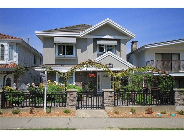 Main Photo: 4371 TRIUMPH Street in Burnaby: Vancouver Heights House for sale (Burnaby North)  : MLS®# V1125395