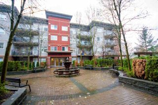 """Photo 1: 208 3250 ST JOHNS Street in Port Moody: Port Moody Centre Condo for sale in """"The Square"""" : MLS®# R2223763"""