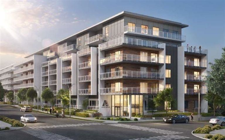"""Main Photo: 403 8447 202 Street in Langley: Willoughby Heights Condo for sale in """"ARISTOTLE LIVING"""" : MLS®# R2583073"""