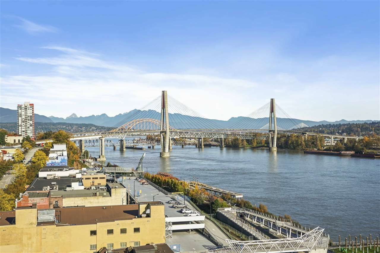 """Main Photo: 1607 668 COLUMBIA Street in New Westminster: Quay Condo for sale in """"TRAPP + HOLBROOK"""" : MLS®# R2584515"""