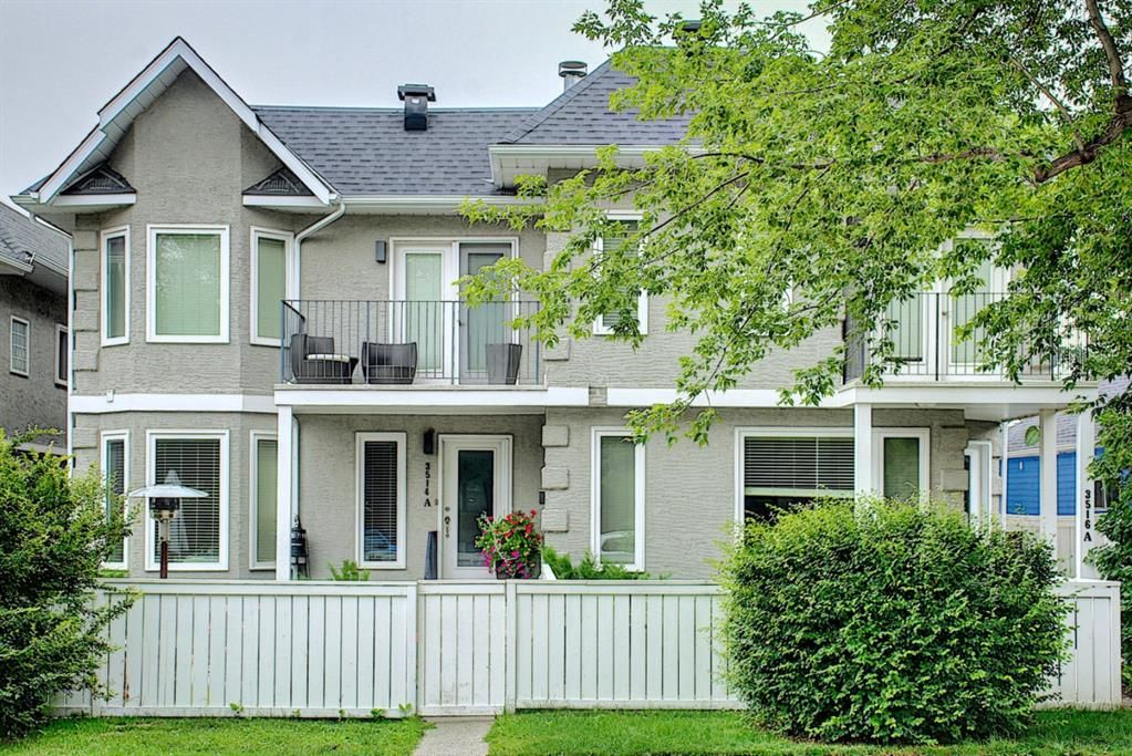 Main Photo: 3514B 14A Street SW in Calgary: Altadore Row/Townhouse for sale : MLS®# A1140056