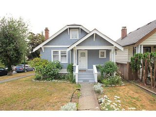 Photo 1: 3908 DUNBAR ST in Vancouver: Dunbar House for sale (Vancouver West)  : MLS®# V1133216